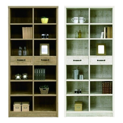 本棚 扉 書棚 完成品 幅80cm 日本製 木製 アンテーク調