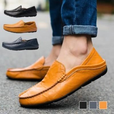 軽量 運転 ビジネスシューズ メンズ 防滑 革靴 モカシン 幅広 紳士靴 スリッポン ビットローファー