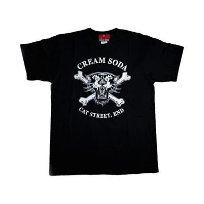 CREAM SODA パンサー フェイス Tシャツ ☆ PINK DRAGON クリームソーダ (L)