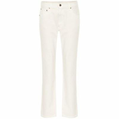 カイト Khaite レディース ジーンズ・デニム ボトムス・パンツ Kyle low-rise straight jeans Ivory Rigid