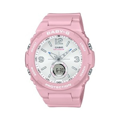 取寄品 CASIO腕時計 カシオ BABY-G ベイビージー アナデジ アナログ&デジタル 丸形 BGA-260SC-4AJF 人気モデル レディース腕時計 送料無