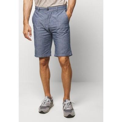 セレクテッドオム カジュアルパンツ メンズ ボトムス SLHSTRAIGHT PARIS  - Shorts - maritime blue
