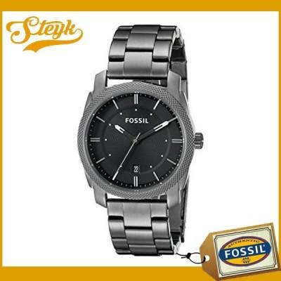 FOSSIL FS4774 フォッシル 腕時計 アナログ Machine マシーン メンズ ブラックガンメタル