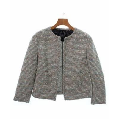 T-jacket ティージャケット ノーカラージャケット レディース