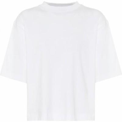 ヴィンス Vince レディース Tシャツ トップス Cotton jersey T-shirt Off White