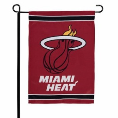 WinCraft ウィンクラフト スポーツ用品  WinCraft Miami Heat 12 x 18 Double-Sided Garden Flag