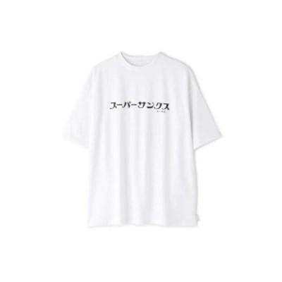 ローズバッド(ROSE BUD)/カタカナロゴプリントTシャツ