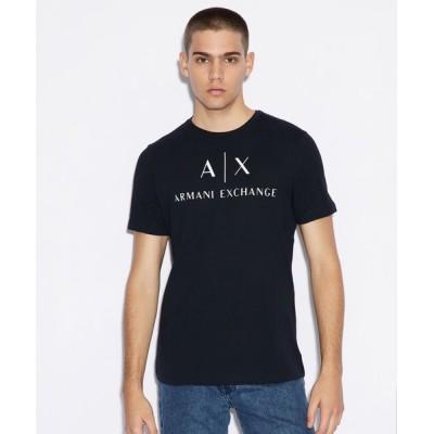 A|X ARMANI EXCHANGE / 【A|Xアルマーニ エクスチェンジ】A|Xロゴ クルーネック半袖Tシャツ/SLIM MEN トップス > Tシャツ/カットソー