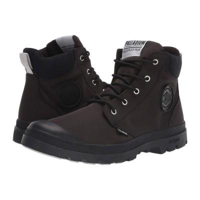 パラディウム Palladium レディース ブーツ シューズ・靴 Pampa Lite Cuff WP Black/Black