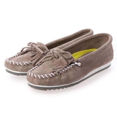 ミネトンカ Minnetonka レディース 短靴 KILTY+Gray Suede4301 989403