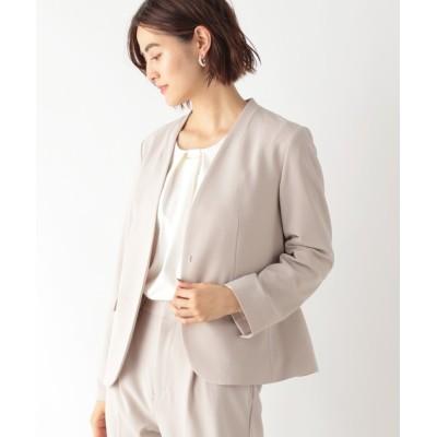 LEPSIM / 【かんたんケアSET UP】洗えるきれいジャケット 918860 WOMEN ジャケット/アウター > ノーカラージャケット