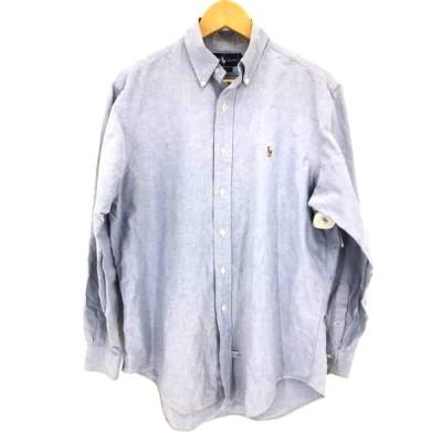 ラルフローレン RALPH LAUREN ボタンダウンシャツ メンズ 16-34 中古 古着 211012