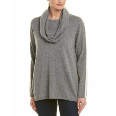 IN Cashmere インカシミア ファッション トップス In Cashmere Cowl Neck Cashmere Pullover