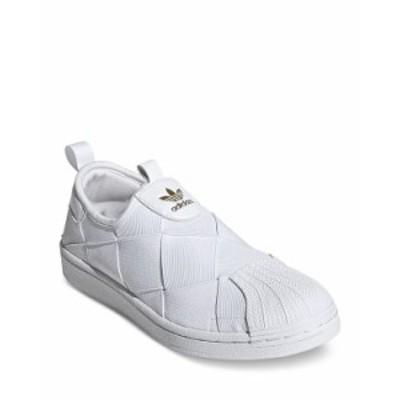アディダス レディース スニーカー シューズ Women's SUPERSTAR Slip On Sneakers White