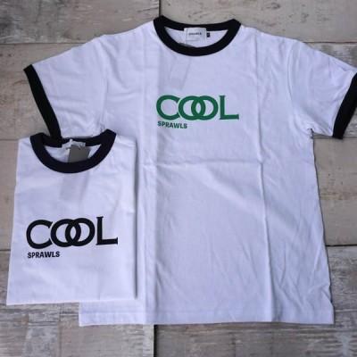 【SALE20%OFF】SPRAWLS COOL SPRAWLS RINGER TEE(スプロールズ カットソー 半袖 Tシャツ)