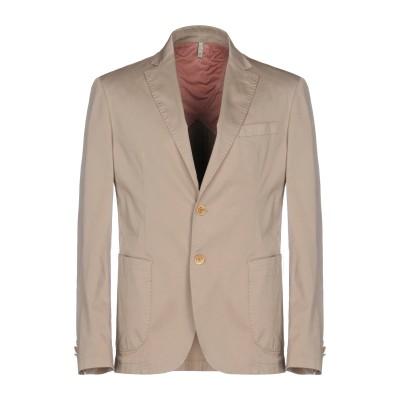 DOMENICO TAGLIENTE テーラードジャケット ベージュ 50 コットン 96% / ポリウレタン® 4% テーラードジャケット