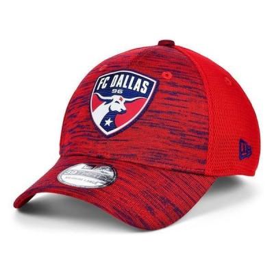 ニューエラ 帽子 アクセサリー メンズ FC Dallas 2020 On-field 39THIRTY Cap Red
