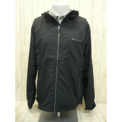 コロンビア メンズ  Black-Mサイズ ヘイゼン ジャケット マウンテンパーカー ウインドジャケット トレッキング 撥水 ブラック 黒 普段使用もOK