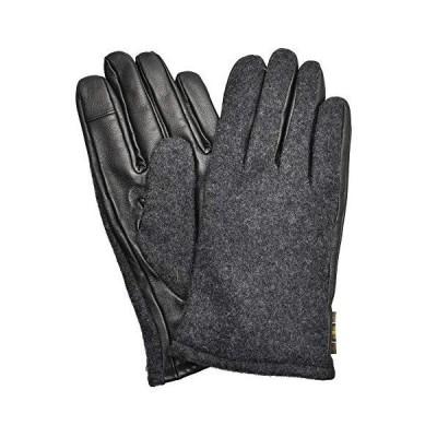 [バブアー]BARBOUR 手袋 メルサムレザー グローブ MGL0087 メンズ グローブ クラシカル 防寒 グレー S [並行輸入品]