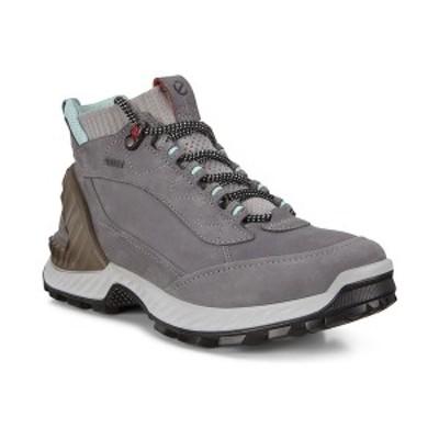 エコー レディース スニーカー シューズ Women's Exhike GORE-TEX High-Top Sneakers Titanium/concrete