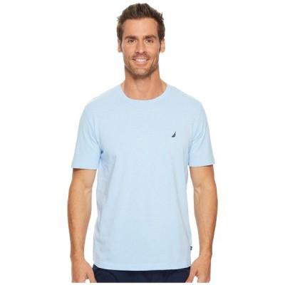 ナウティカ ナイトウェア アンダーウェア メンズ Knit Sleep T-Shirt Noon Blue