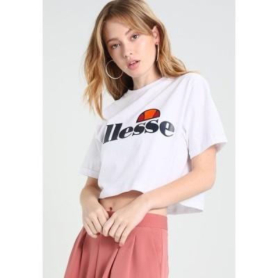 エレッセ Tシャツ レディース トップス ALBERTA - Print T-shirt - optic white