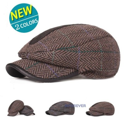 帽子 キャップ ハンチング帽 メンズ ハット アウトドア 日よけ帽子 防寒 カジュアル 紳士 40代 50代