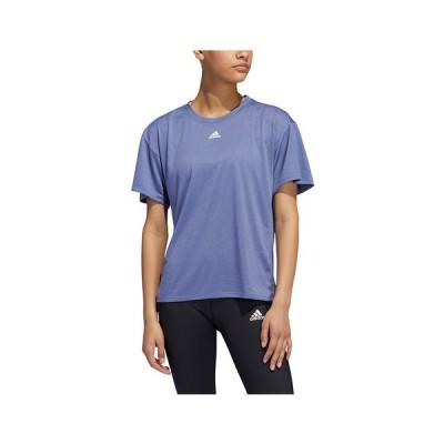 アディダス(adidas) トレーニング スリーストライプ AEROREADY 半袖Tシャツ CU377-H51187 (レディース)