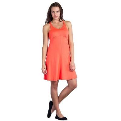 エクスオフィシオ ExOfficio レディース ワンピース タンクドレス ワンピース・ドレス wanderlux tank dress Hot Coral