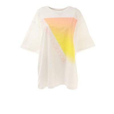 ニューバランス(new balance)Tシャツ レディース 半袖 グラフィックプリント WT11517WT