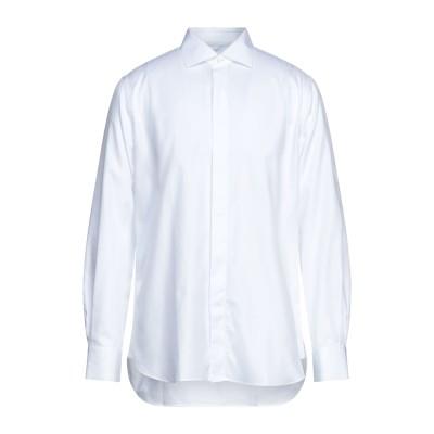CÀRREL シャツ ホワイト 43 コットン 100% シャツ