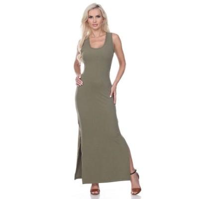 ホワイトマーク ワンピース トップス レディース Women's Cameron Maxi Dress Olive