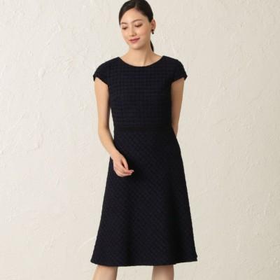 【店舗限定】フラッグツイードドレス