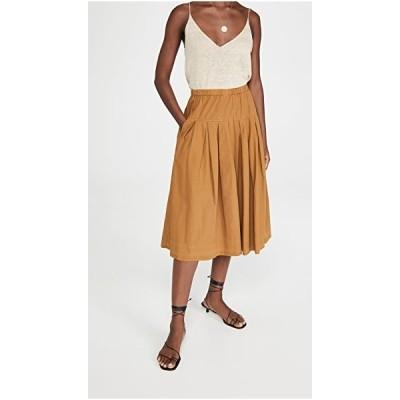 アレックスミル ミディスカート スカート レディースAlex Mill Paper Cotton SkirtCaramel