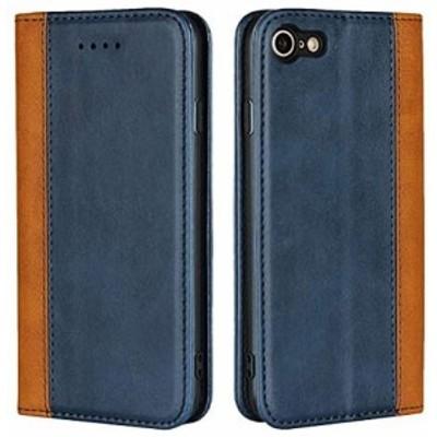 iPhone 7/8/SE 第2世代 ケース 手帳型 iphone 7 カバー 手帳型ケース Zouzt 牛革 財布型 カード収納 マグネット ベルトなし スタンド 4色