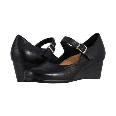 Trotters トロッターズ レディース 女性用 シューズ 靴 ヒール Willow - Black Embossed