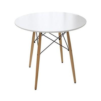 イームズテーブル ダイニングテーブル 丸型 ホワイト DT-02B