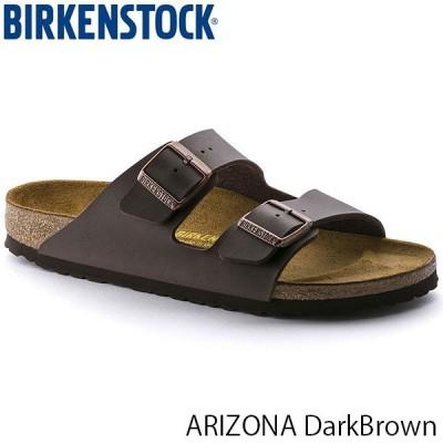 ビルケンシュトック サンダル レディース メンズ アリゾナ ARIZONA ベルト サマーサンダル 幅狭 ナロー ダークブラウン BIRKENSTOCK GC051703 国内正規品