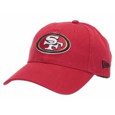 ニューエラ レディース 帽子 アクセサリー NFL Core Classic 9TWENTY Adjustable Cap - San Francisco 49ers Red