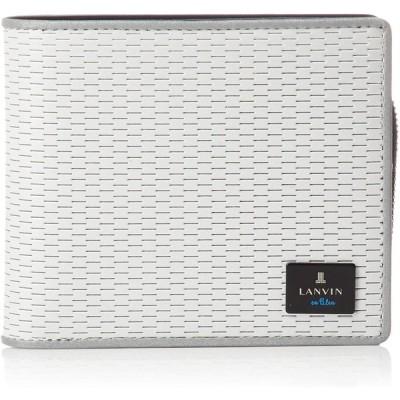 [ランバンオンブルー] 二つ折り財布 LVB ジオ小物 メンズ シロ