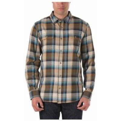 Vans バンズ ファッション アウター Vans Off The Wall Mens Elm Long Sleeve Plaid Flannel Shirt