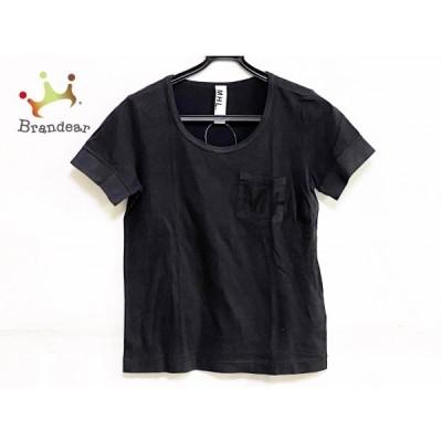 マーガレットハウエル MHL. 半袖Tシャツ サイズ2 M レディース - ダークグレー クルーネック 新着 20210210