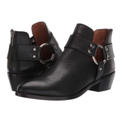 フライ Frye レディース ブーツ シューズ・靴 Ray Harness Back Zip Black Soft Full Grain