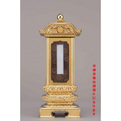 純前金 柱付二重過去帳回 別上塗 4.0寸 本金箔 過去帳回出 位牌 仏壇 仏具