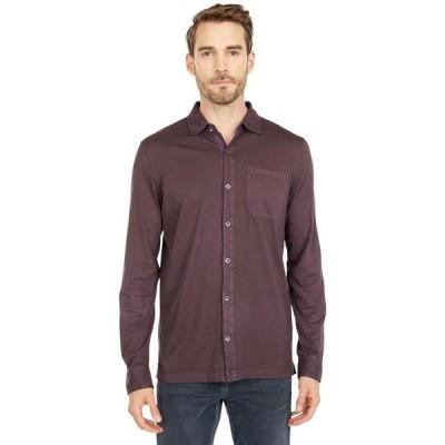 モッドドック メンズ シャツ トップス Santa Monica Long Sleeve Button Front Shirt