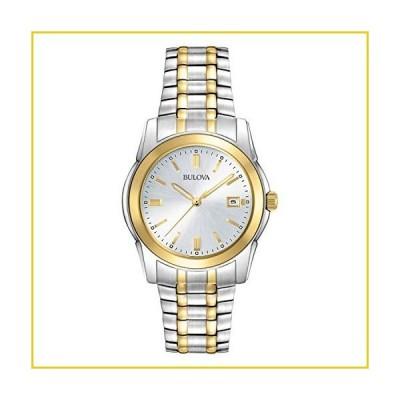 Bulova Classic Quartz Calendar Mens Watch, Stainless Steel , Two-Tone (Model: 98H18)並行輸入品