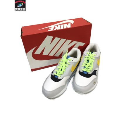 NIKE/AIR MAX 1/Daisy/ホワイト×グレー/25cm ナイキ[▼]