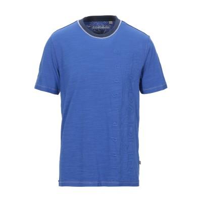 ナパピリ NAPAPIJRI T シャツ ブルー S コットン 100% T シャツ