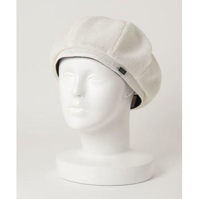 general design store / マニエラ リネン ベレー WOMEN 帽子 > ハンチング/ベレー帽