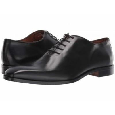 Massimo Matteo マッシオマッテオ メンズ 男性用 シューズ 靴 オックスフォード 紳士靴 通勤靴 5-Eye Oxford Black【送料無料】